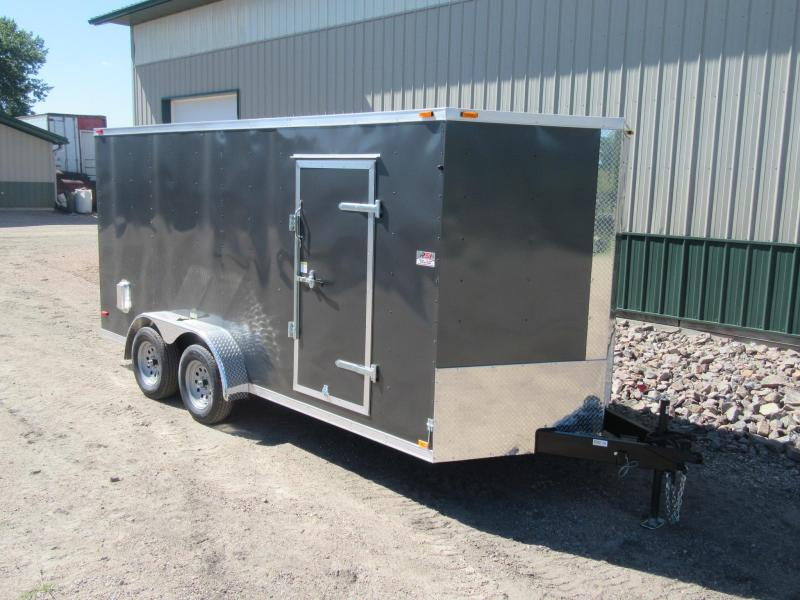 2018 7'x16' ABC Enclosed Trailer