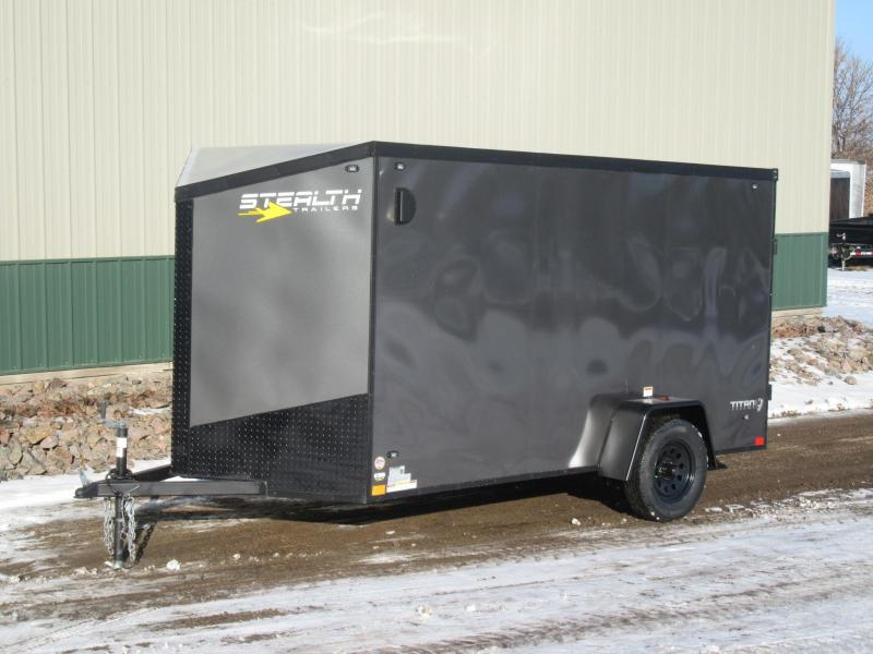2019 6'x12' Stealth Enclosed Cargo Trailer
