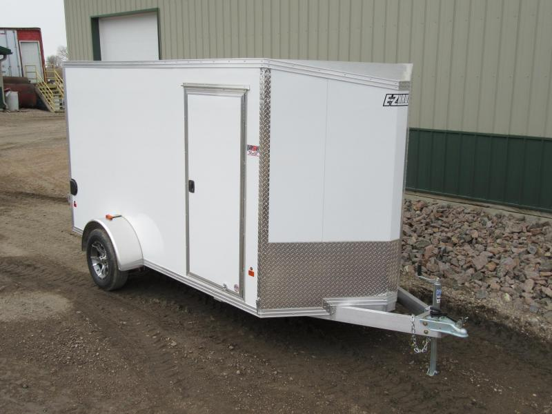 2017 6'x12' EZ Hauler Aluminum Enclosed Trailer