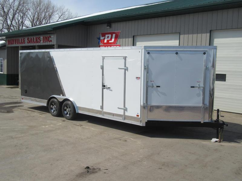 2019 8.5'x22' Discovery Enclosed Carhauler w/Front Ramp