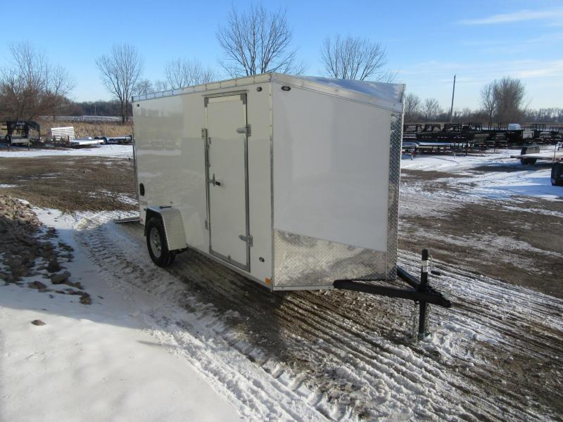 2019 6'x12' Stealth Titan Enclosed Trailer
