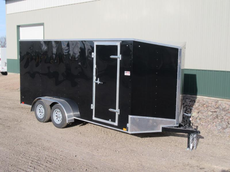 2018 7'x16' Discovery Enclosed Trailer