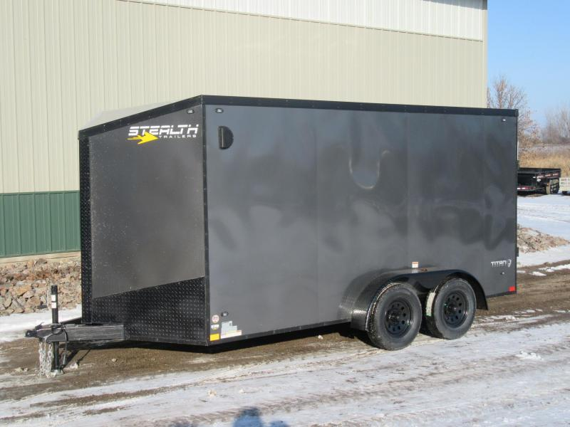 2019 7'x14' Stealth Enclosed Cargo Trailer