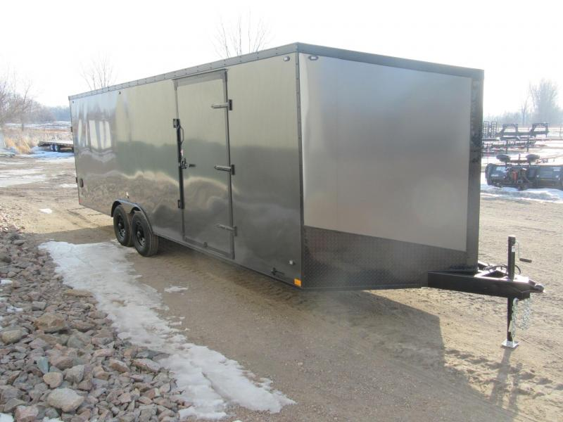 2019 8.5'x24' Stealth Titan Carhauler Enclosed Trailer
