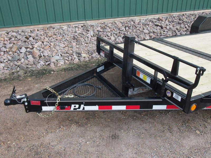 "2019 PJ 20'x6"" Channel Equipment Tilt"