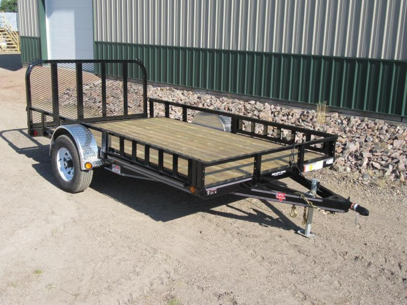 2018 PJ Trailers 12 x 83 Channel Utility Trailer