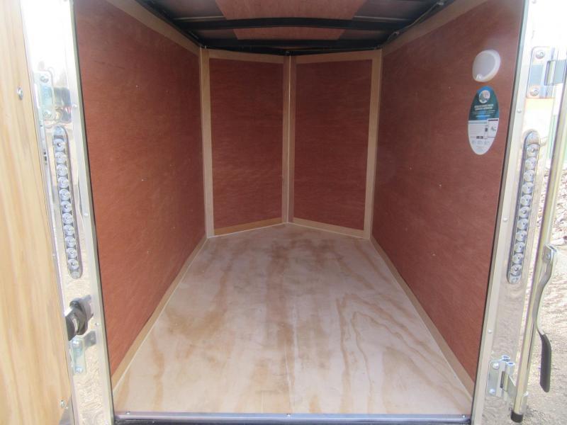 2019 4'x6' Cargo Mate Enclosed Cargo Trailer