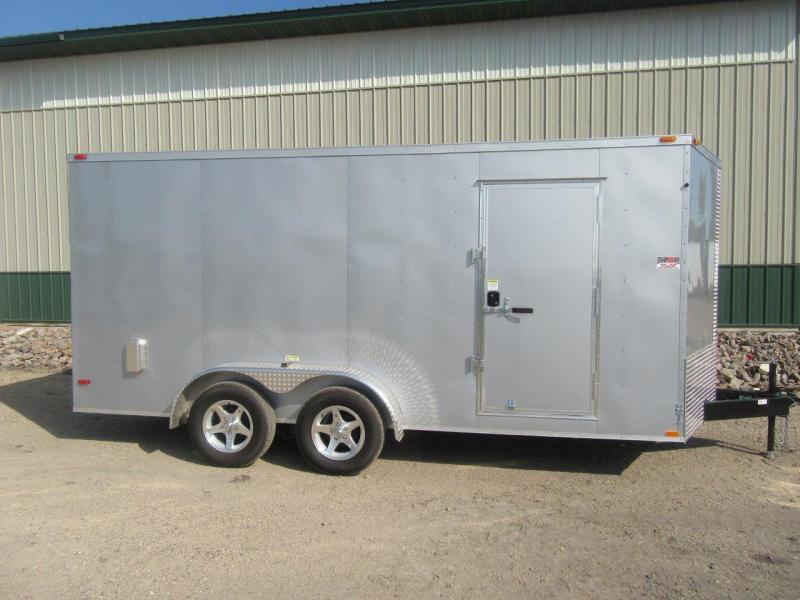 2017 7'x16' ABC Enclosed Cargo Trailer