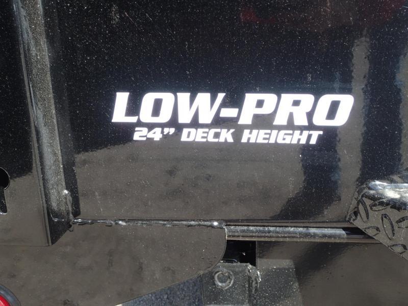 "2019 PJ 14' x 83"" - 24"" Low Pro Dump Trailer"