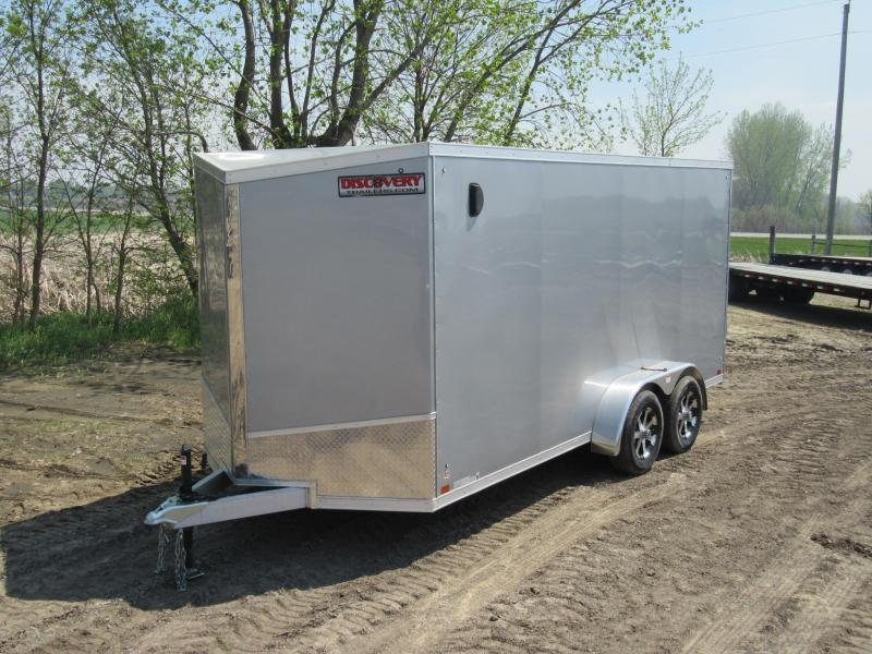 2020 Discovery Trailers Aluminum Enclosed Enclosed Cargo Trailer