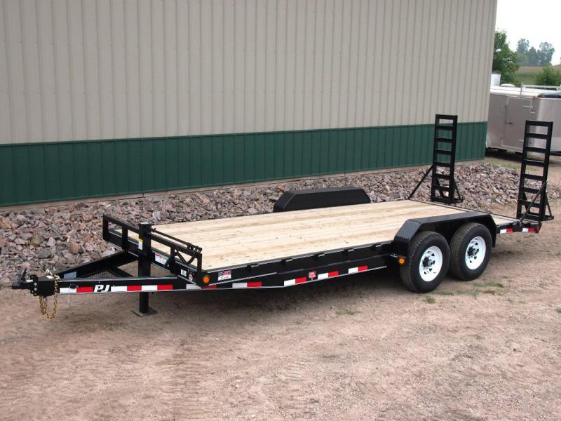 "2020 PJ 20' x 6"" Channel Equipment Trailer"