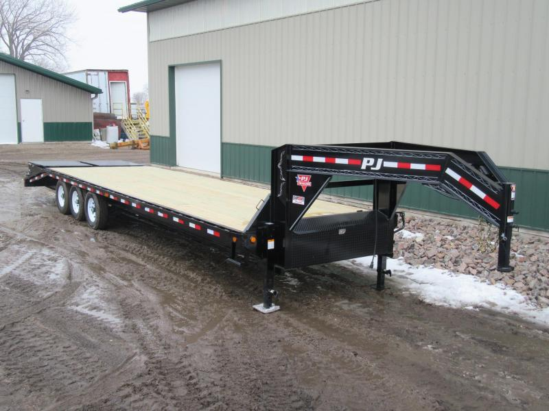 2019 PJ 32' Classic Flatdeck with Singles Trailer