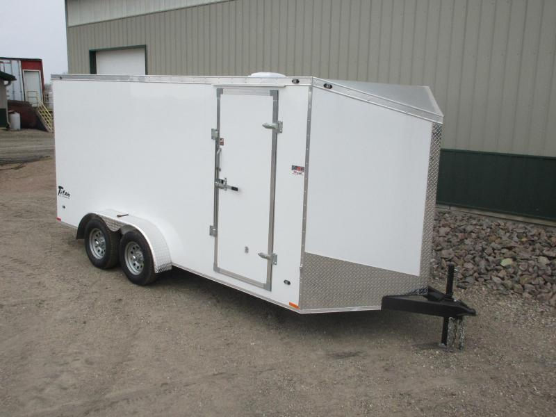 2018 7'x16' Stealth Titan Enclosed Trailer