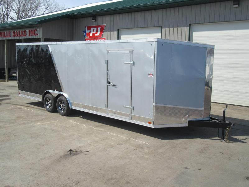 2019 8.5'x24' Discovery Enclosed Carhauler