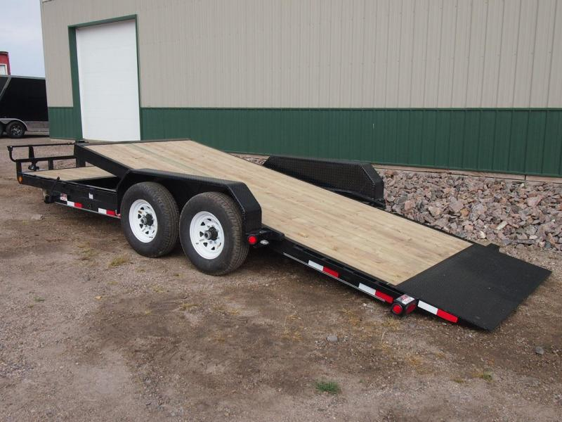"2019 PJ 20' x 6"" Channel Equipment Tilt Trailer"
