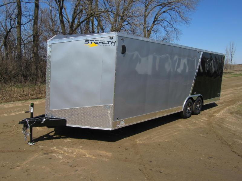 2020 Stealth Titan Enclosed Carhauler Trailer