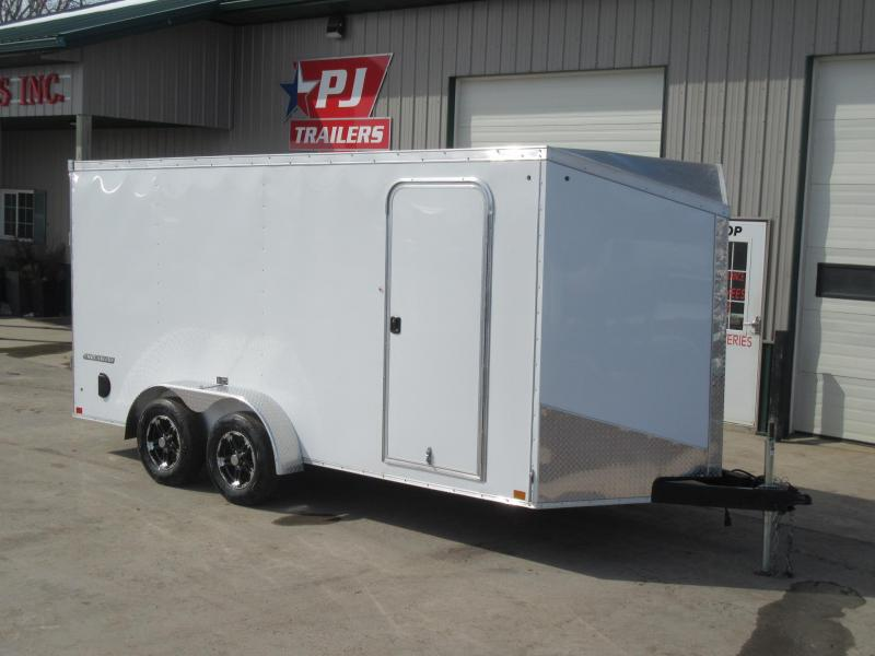 2019 7'x16' Impact Enclosed Trailer