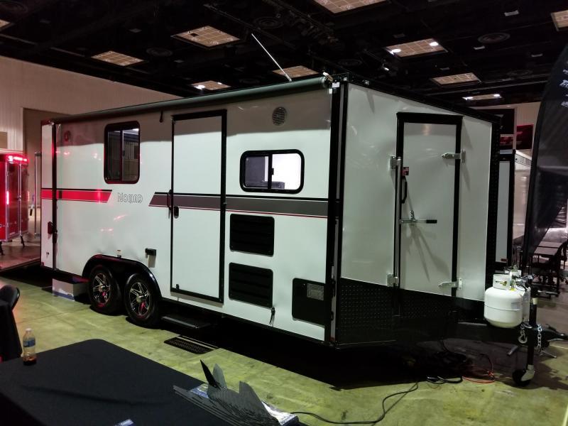 2019 8.5'x18' Stealth Nomad Enclosed Toy Hauler