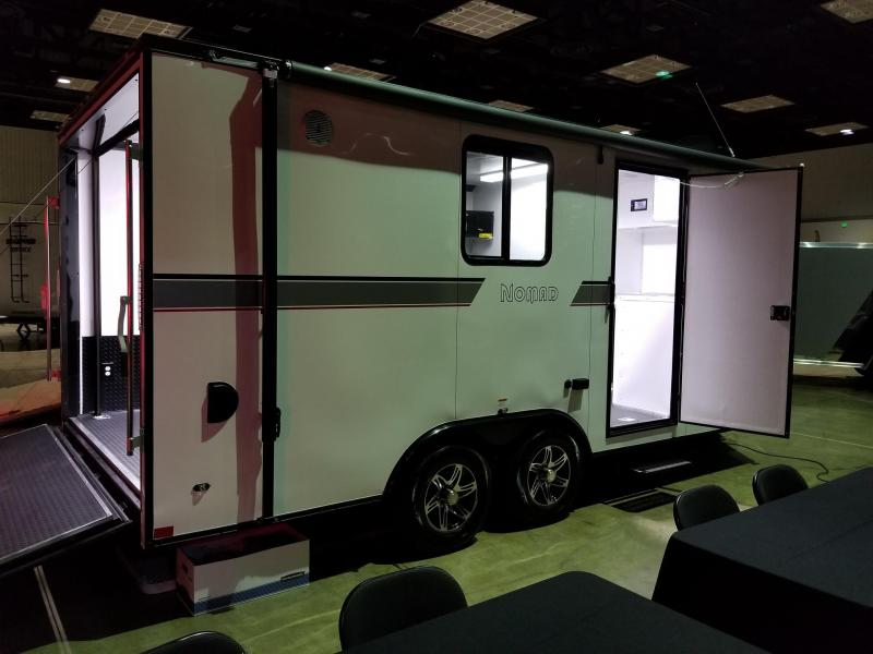 2019 8.5'x18' Stealth Nomad Enclosed Toy Hauler