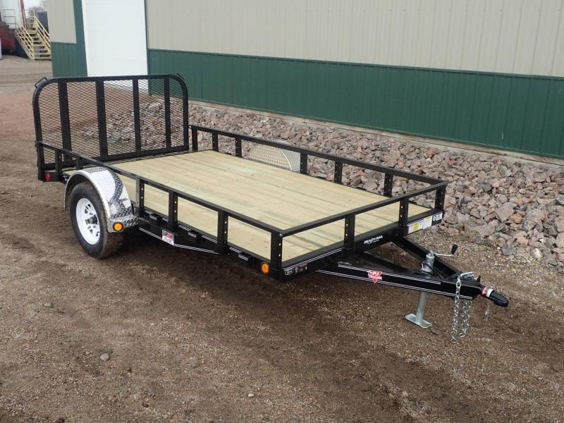 "2020 PJ 12'x77"" Single Axle Channel Utility Trailer"