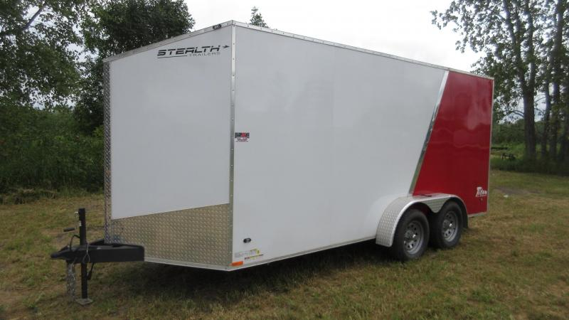 2014 7'x16' Stealth Enclosed Trailer