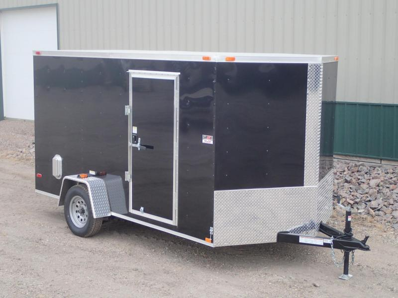 2017 7'x12' ABC Enclosed Cargo Trailer
