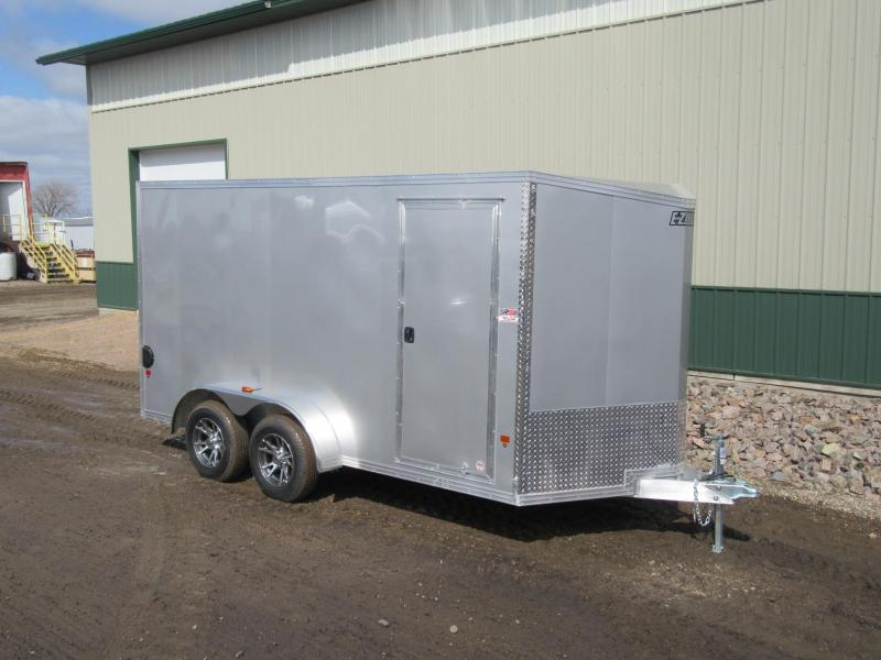 2018 7'x14' EZ Hauler Aluminum Enclosed Trailer