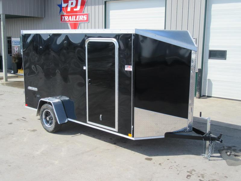 2019 6'x12' Impact Enclosed Trailer