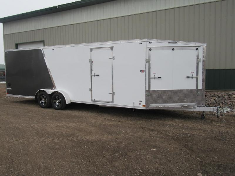 2019 7'x29' Stealth Predator Aluminum Snowmobile Trailer