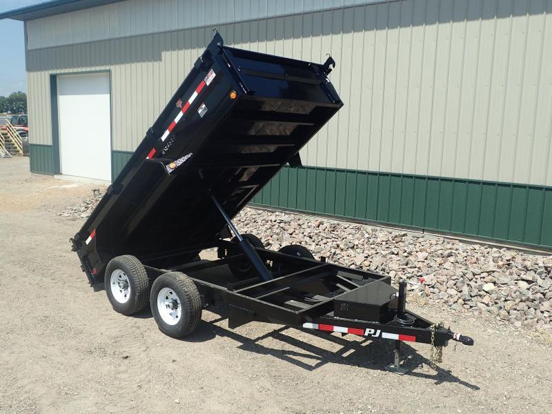 "2019 PJ 12'x72"" Tandem Axle Dump Trailer"