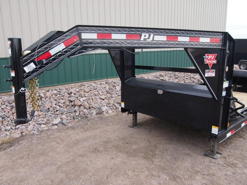 "2019 PJ 24' x 6"" Channel Equipment Tilt Trailer"