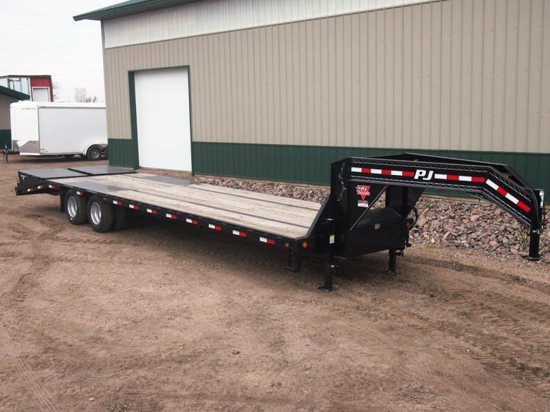 2020 PJ Trailers Low-Pro Flatdeck w/Duals Flatbed Trailer