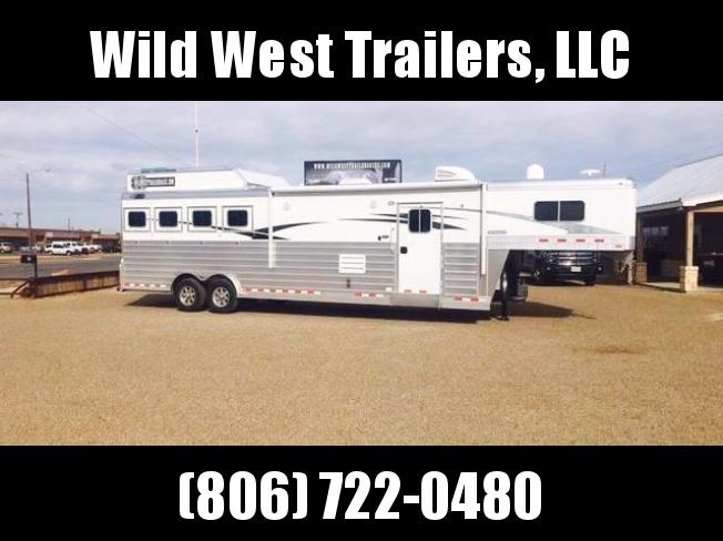 2017 4-Star Trailers 4H LQ Horse Trailer