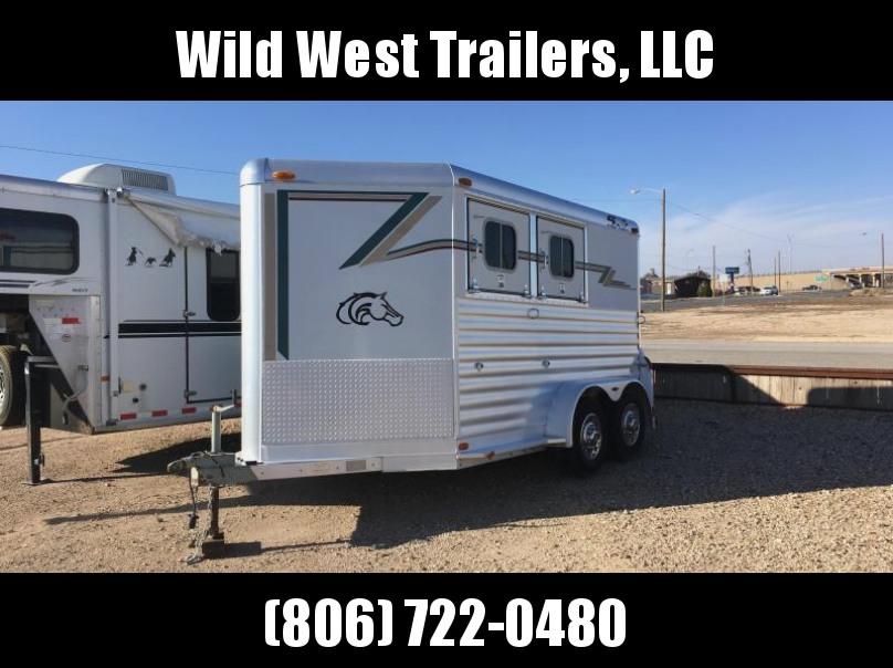2000 4-Star Trailers 2 Horse Bumper Horse Trailer