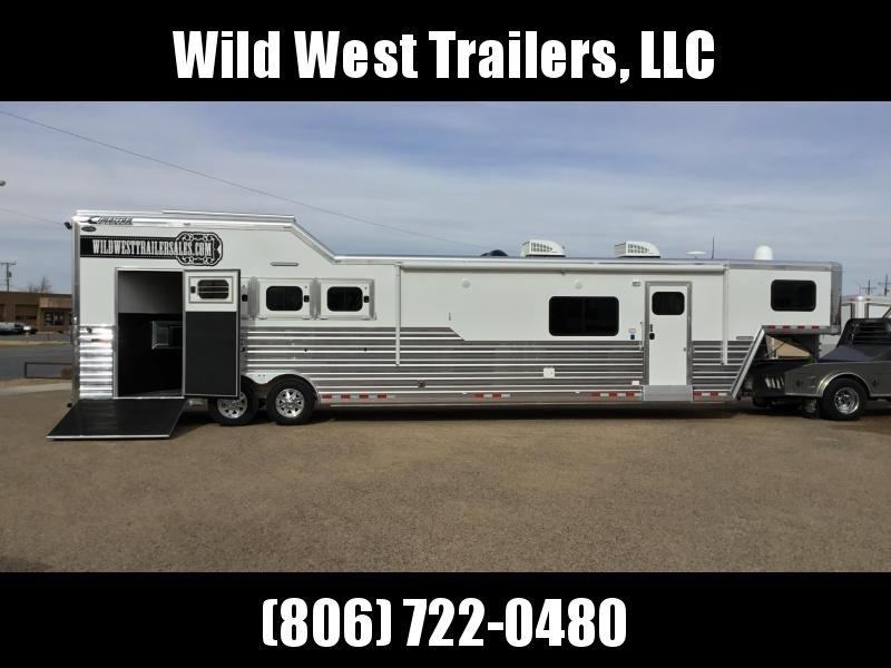 2018 Cimarron Trailers Norstar 4H-16 SW Horse Trailer
