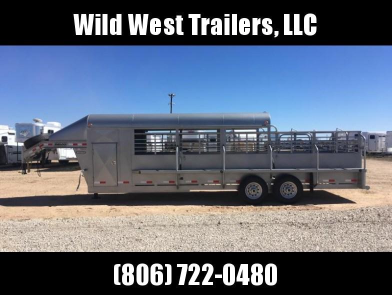 2018 Delco Trailers 6x24 Livestock Trailer