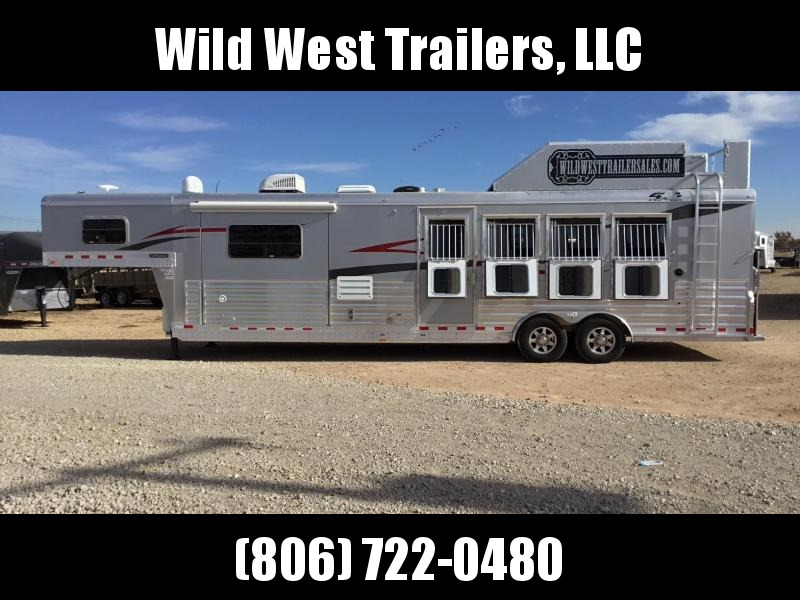 2018 4-Star Trailers 4 Horse w/ 13'2'' SW Horse Trailer