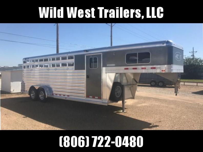 2018 4-Star Trailers 5 Horse Livestock Trailer