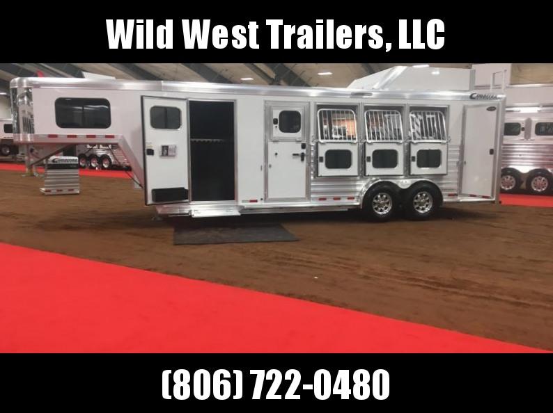 2018 Cimarron Trailers Trainer's Horse Trailer