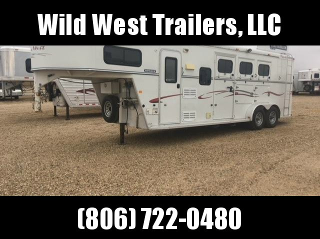 2005 Trails West 3 Horse Trailer