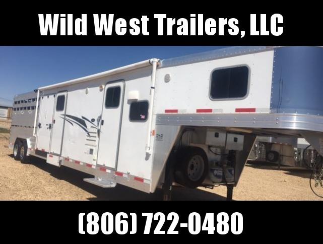2013 Exiss Trailers 36ft LQ STC Livestock Trailer