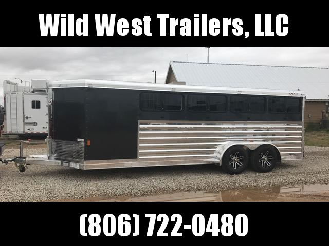 2017 Exiss Trailers 20FT Show Pig Trailer