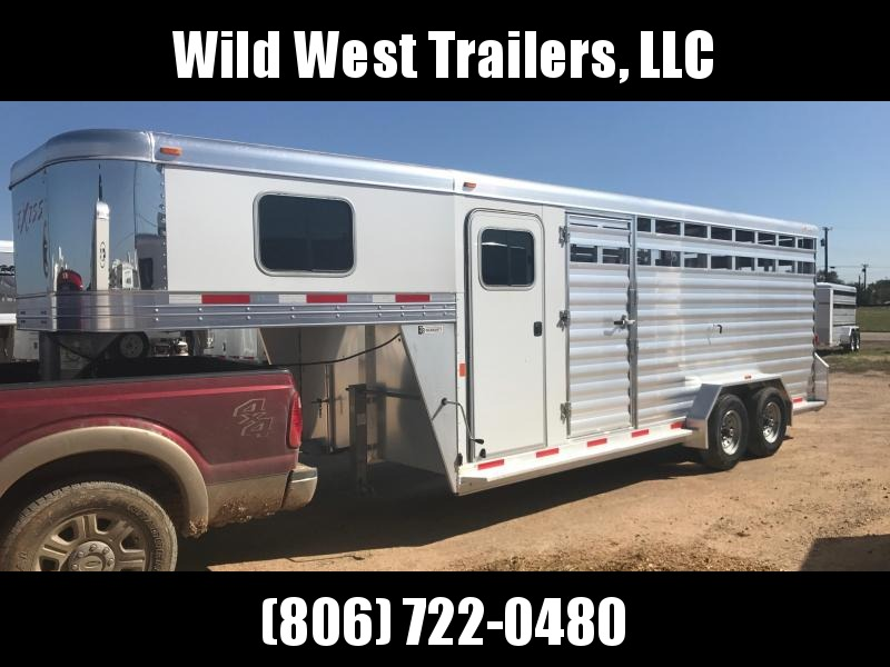 2017 Exiss Trailers STC Livestock Trailer