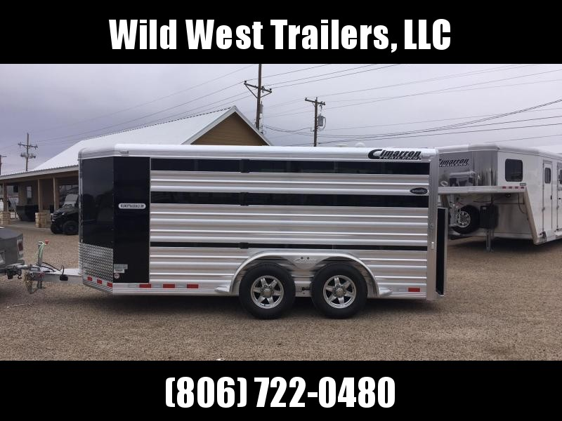 2018 Cimarron Trailers Low Pro Show Star Pig Trailer