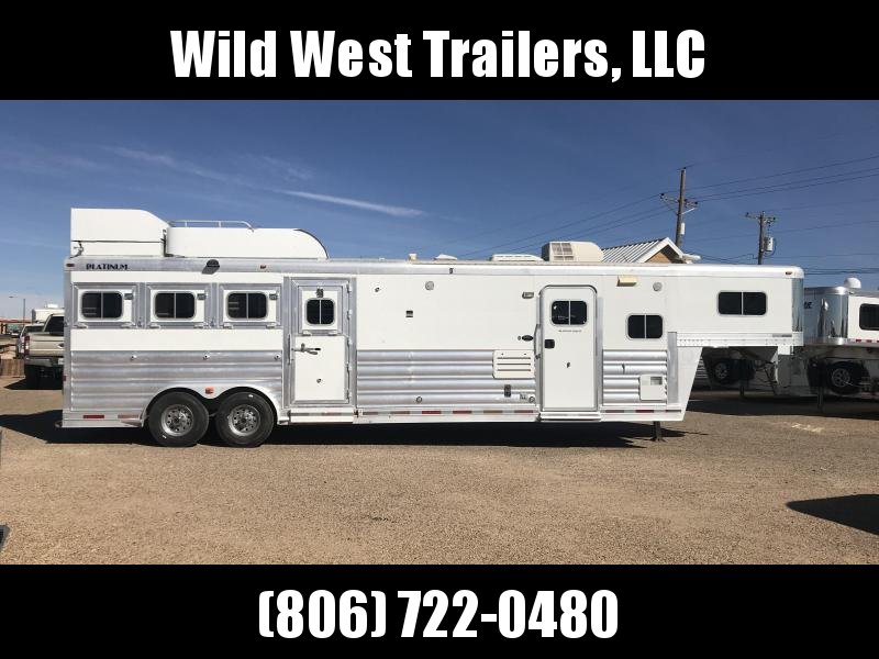 2008 Platinum Coach 4 Horse w/ 12ft SW Horse Trailer