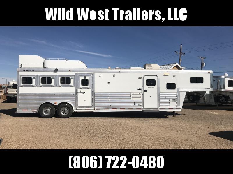 2008 Platinum Coach 4 Horse w/ 12ft SW Horse Trailer