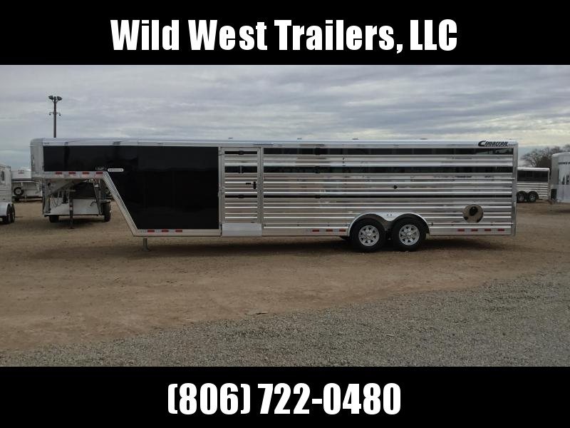 2018 Cimarron Trailers Stierwalt Series Show Cattle Trailer