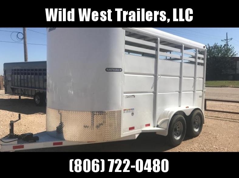 2018 Delco Trailers 2 Horse Bumper Pull Horse Trailer