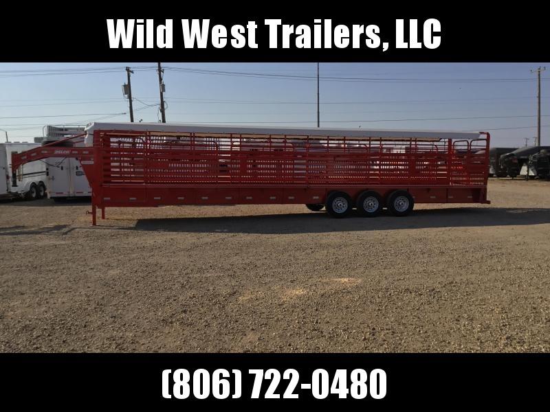 2018 Delco Trailers Bar Top Livestock Trailer