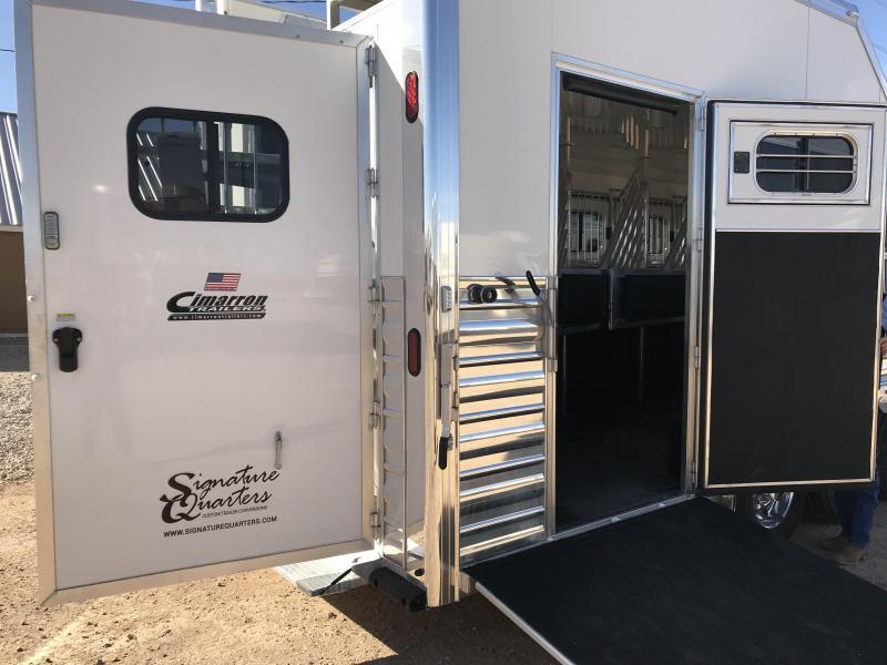 2018 Cimarron Trailers 5 Horse Norstar Trailer